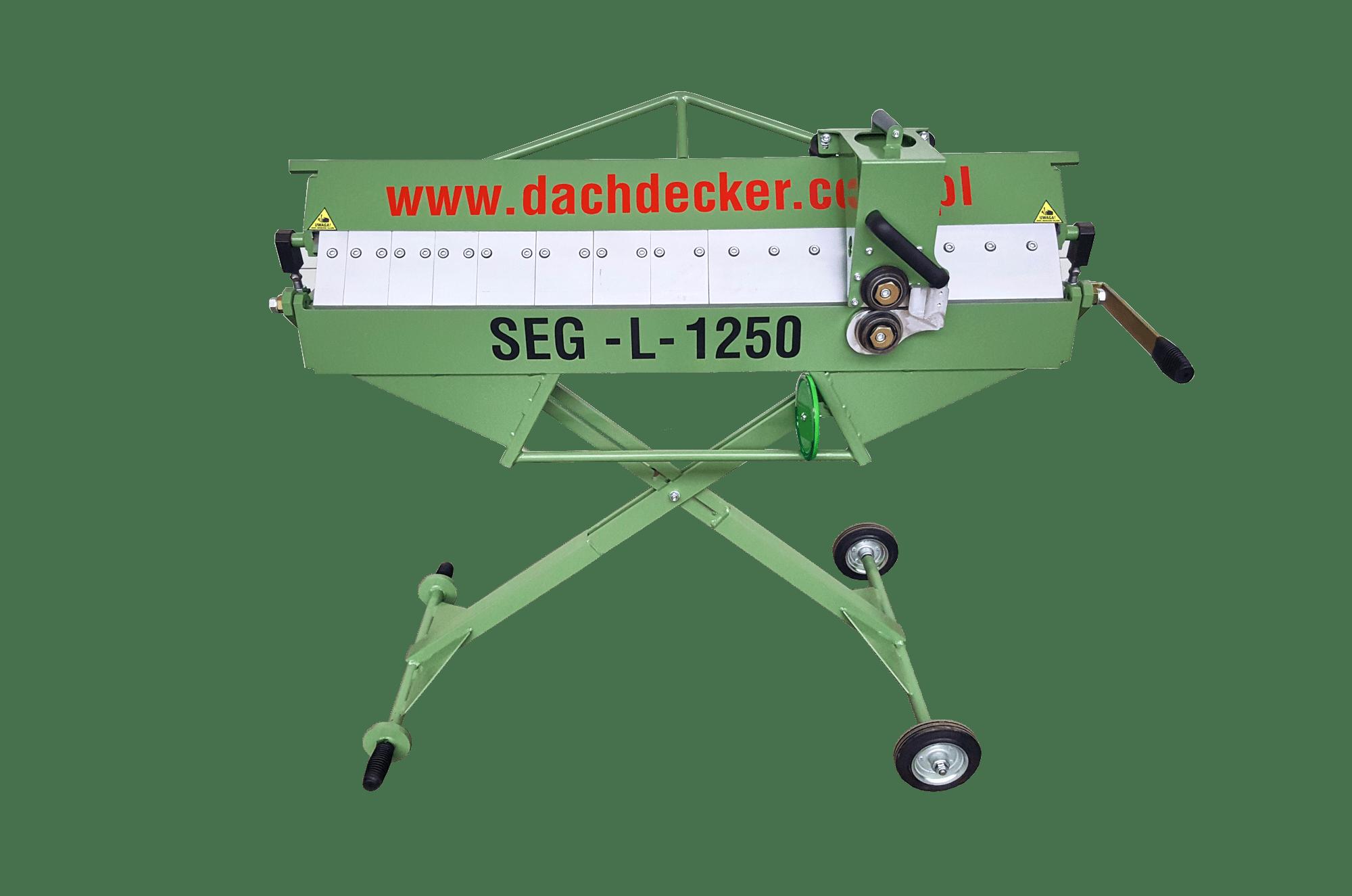 GIĘTARKA ZAGINARKA 1250 SEGMENTOWA MOBILNA_sk_dachdecker